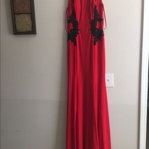 Betsy and Adam long gown